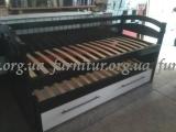 Кровать деревянная раздвижная