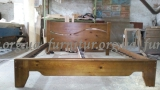 Кровать деревянная двухспальная