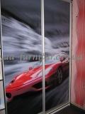 Шкаф-купе двухдверный с фотопечатью