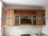 Кухня с массива дерева