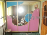 Шкаф-купе трехдверный зеркало