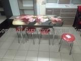 Стол обеденный стекло